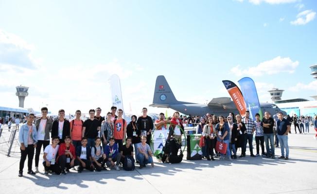 Öğrenciler Teknofest Heyecanını İnegöl Belediyesi İle Yaşadı