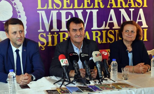 Osmangazi'de Mevlana Şiir Yarışması Başlıyor