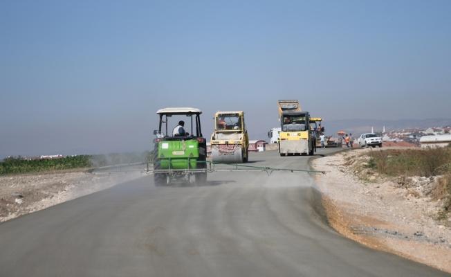 Beton Yol Bursa Bölgesinde İlk Kez İnegöl'de Uygulandı