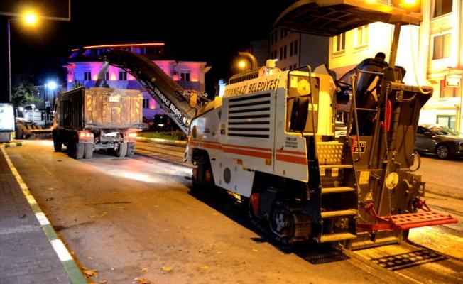 Osmangazi Belediyesi Gece Gündüz Demeden Çalışıyor