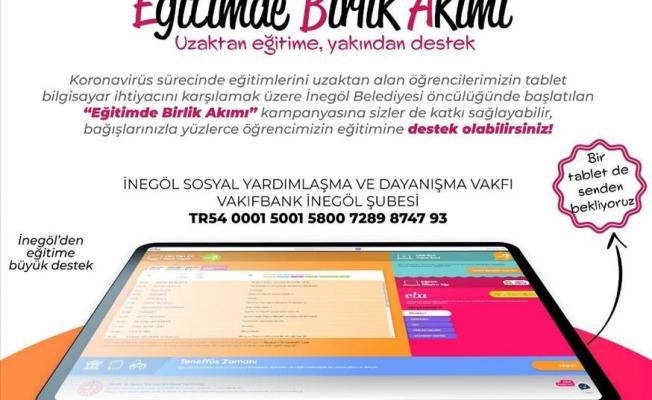 Öğrencilerin Tablet İhtiyacı İçin Destek Kampanyası Başlatıldı
