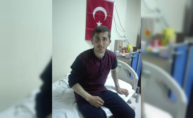 Afrin Gazisi Zonguldak'ta ki baba ocağına getirildi
