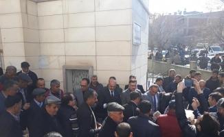 Afrin şehitleri için Mevlidi Şerif okutularak helva dağıtıldı