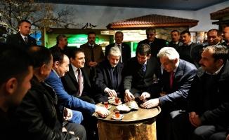 Ankara Büyükşehir Belediye Başkanı Tuna, Çamlıdere'yi ziyaret etti