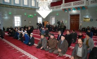 Edirne'de Afrin şehitleri için mevlit okutuldu