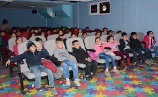 Köyde yaşayan 3 bin çocuk ilk kez sinema izleyecek