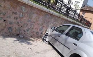 Bursa'da freni patlayan iş makinesi dehşet saçtı
