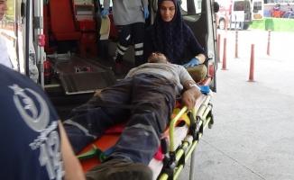 İnegöl'de iş kazalarında 2 kişi yaralandı