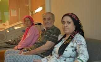 (Özel) Baba ve kızları organ nakliyle hayata tutundu