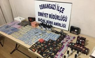 Bursa'da piyasaya sürülmek üzere olan uyarıcı hap ele geçirildi