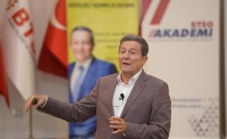 Prof. Baltaş Bursa iş dünyası ile buluştu