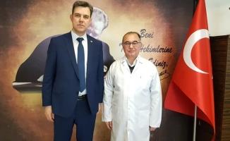 """Esgin: """"Bursa Şehir Hastanesi ile Yüksek İhtisas Hastanesi'nin yükü azalacak"""""""