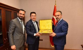 Başkan Aktaş'a Çin'den davet
