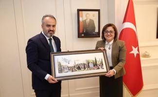 (Özel) Ankara lobisinde Bursa Gaziantep kardeşliği