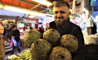 (Özel) Pazarda en az fiyatı artan sebze enginar
