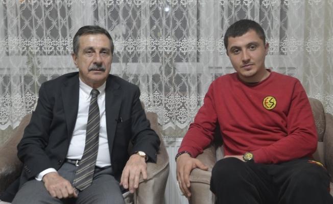 Ataç'tan Afrin gazisi Kızıl'a ziyaret
