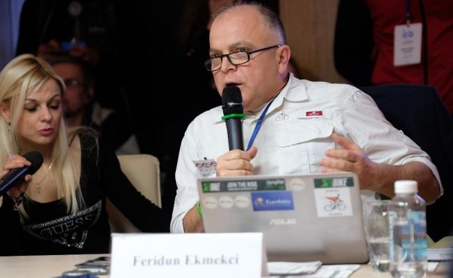 ENVERÇEVKO Kış Bisikleti kongresine katıldı