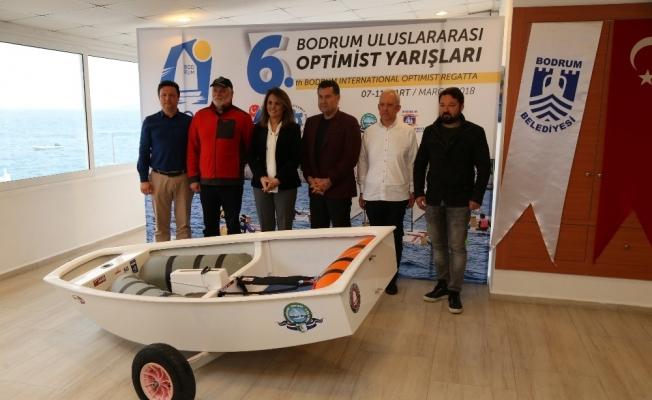 İlk Uluslararası optimist yarışları Bodrumda düzenlenecek
