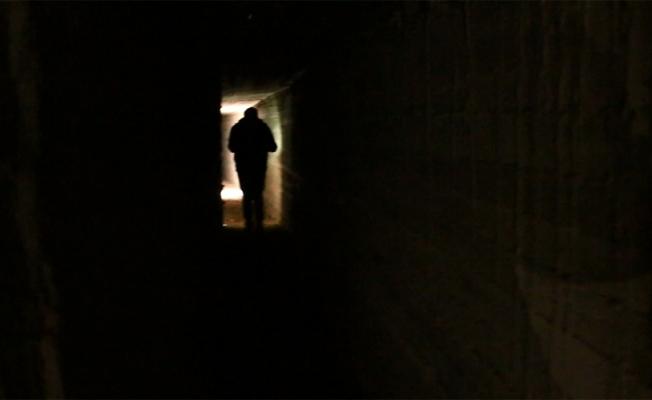 İşte YPG'li teröristlerin tünelleri