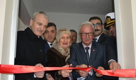 Şehit polisin ismi verildiği kütüphane açıldı