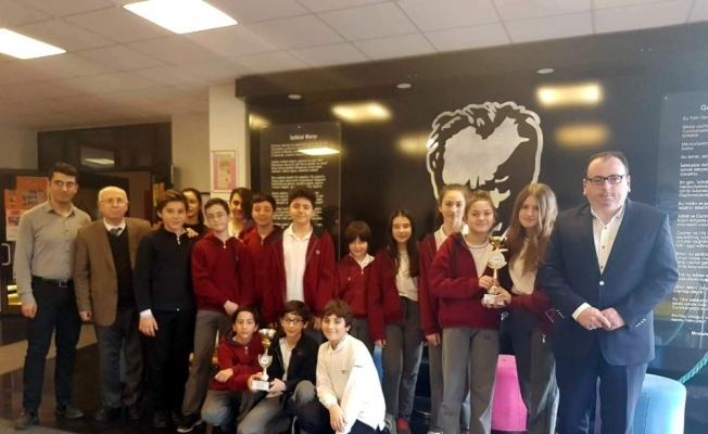 Tan Butik Okulları'na Robot Yarışması'nda iki ödül