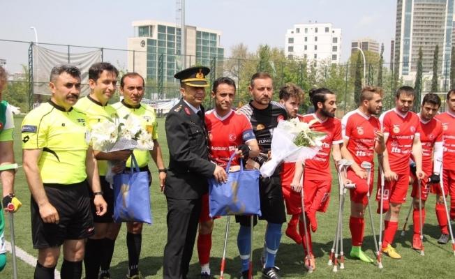 TSK Ampute takımı, Bursa'yı 5-0 yendi