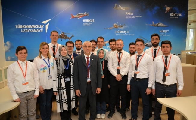 TUSAŞ'ın stajyer mühendisleri 'Cevheri' ile hedefi 12'den vurmaya hazırlanıyor