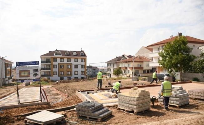 Yeni Mahallede 28 Araçlık Otoparkın Yapımı Sürüyor