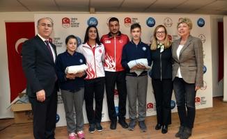Milli sporcular Bursa'ya geldi